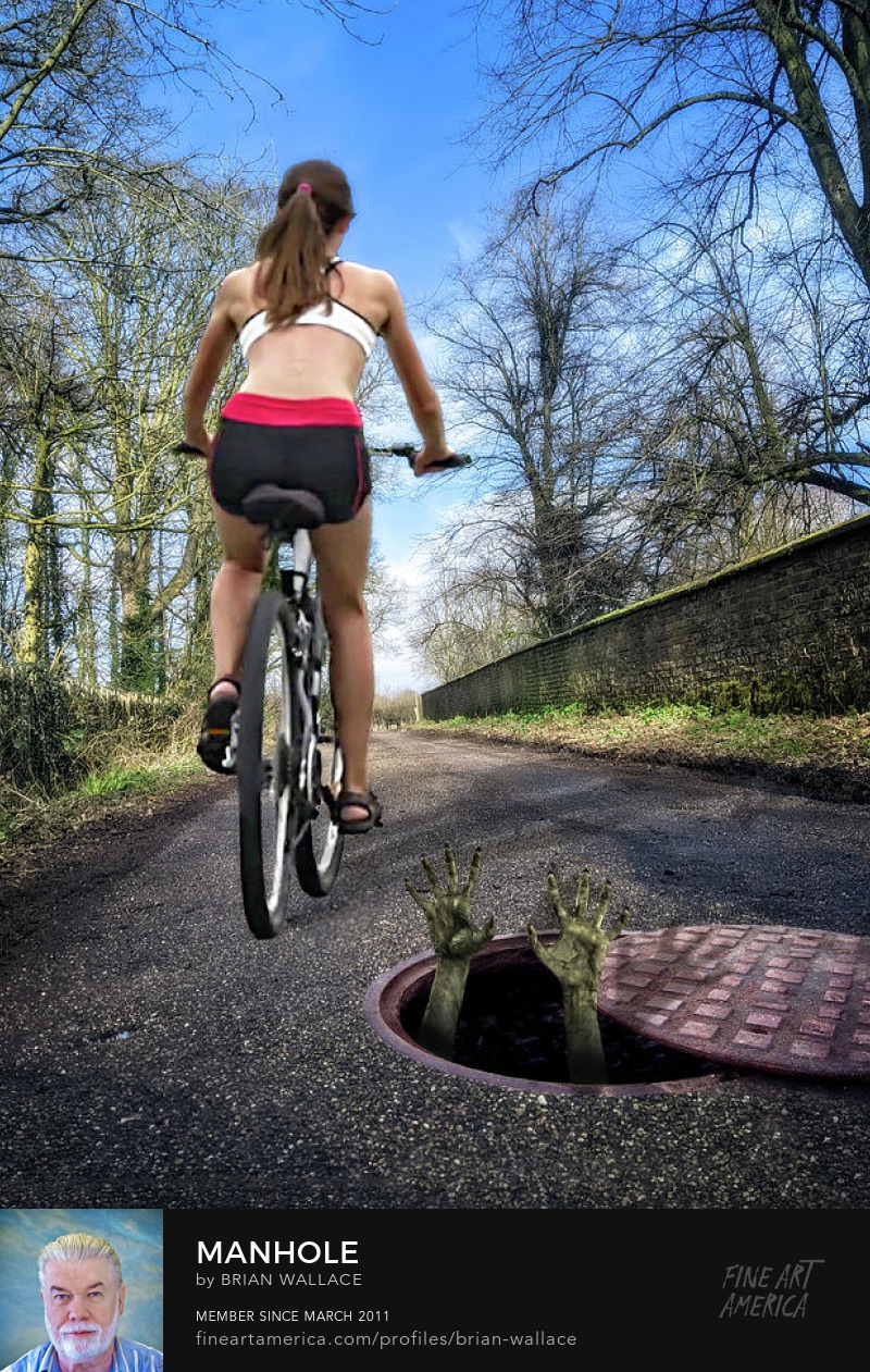 Manhole by Brian Wallace