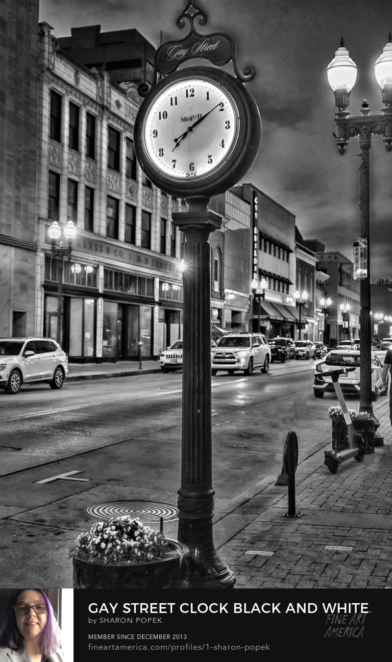black and white night art photography prints
