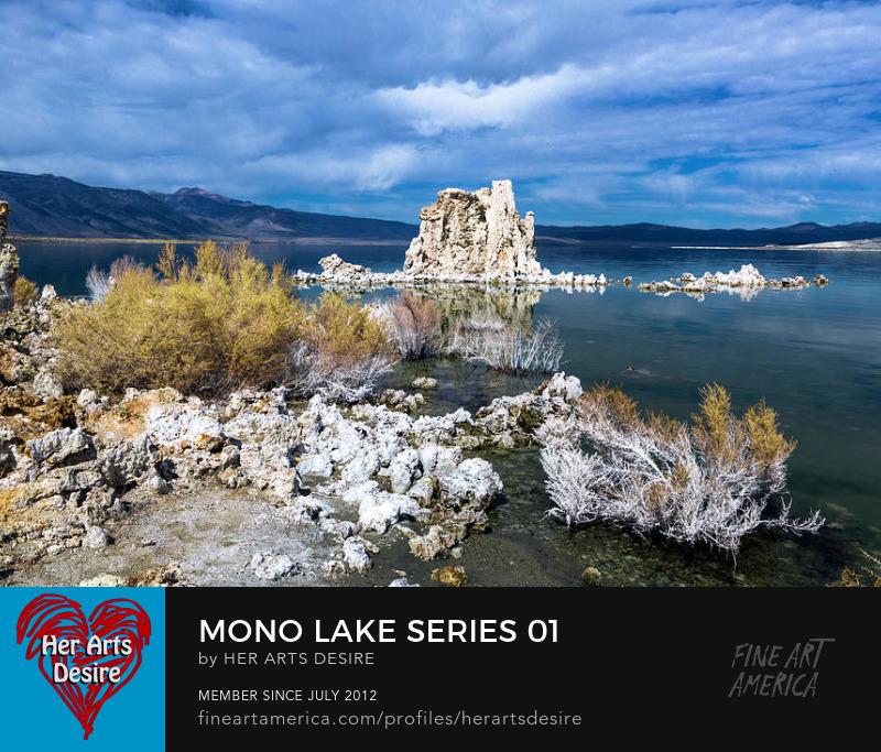 Tufa Tower in Mono Lake