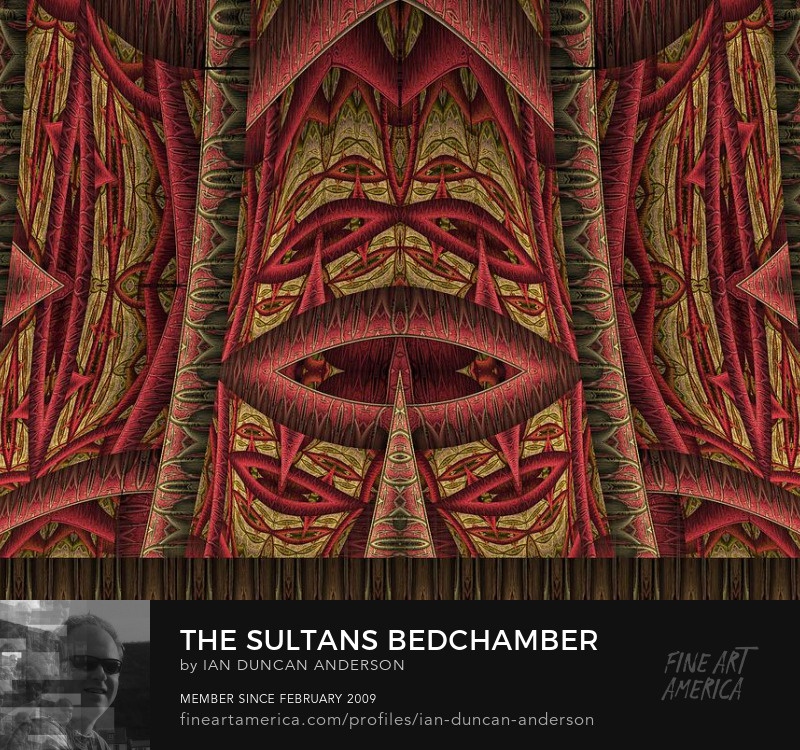 buy print of 'The Sultan's bedchamber' at Fine Art America