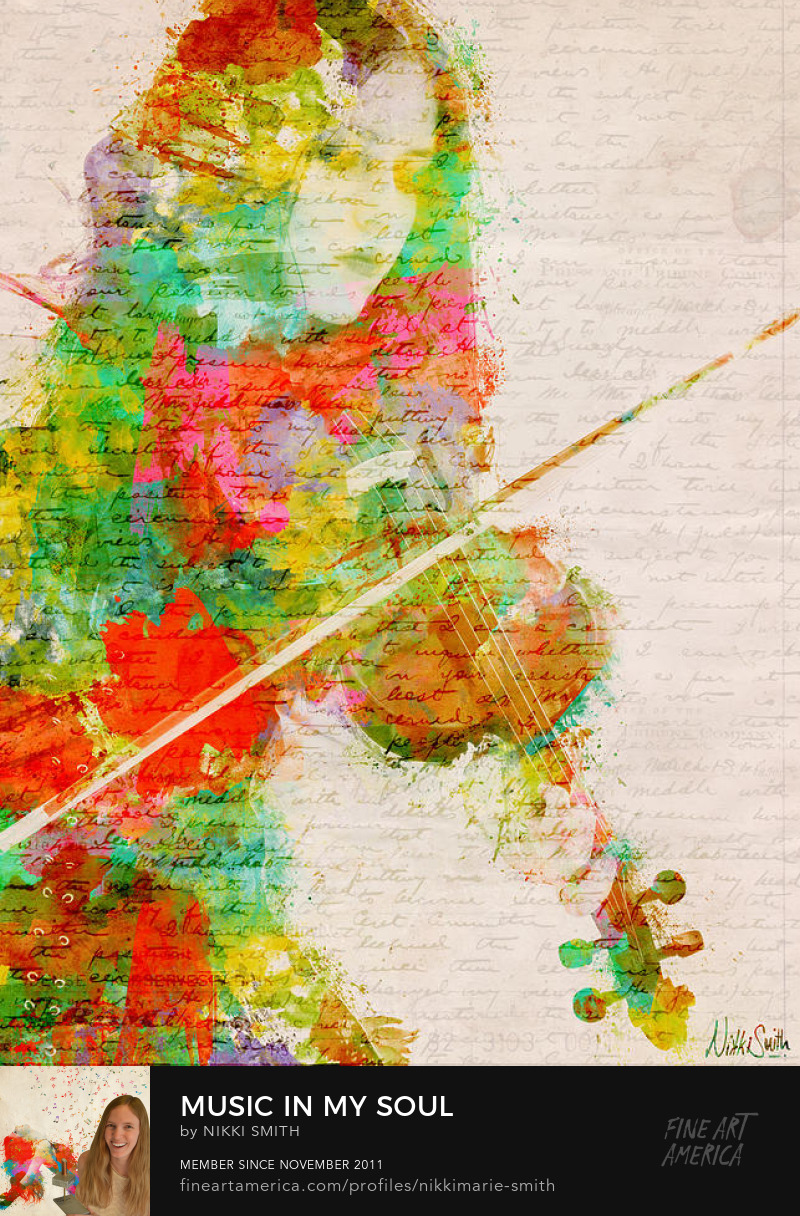 Violin Fine Artwork