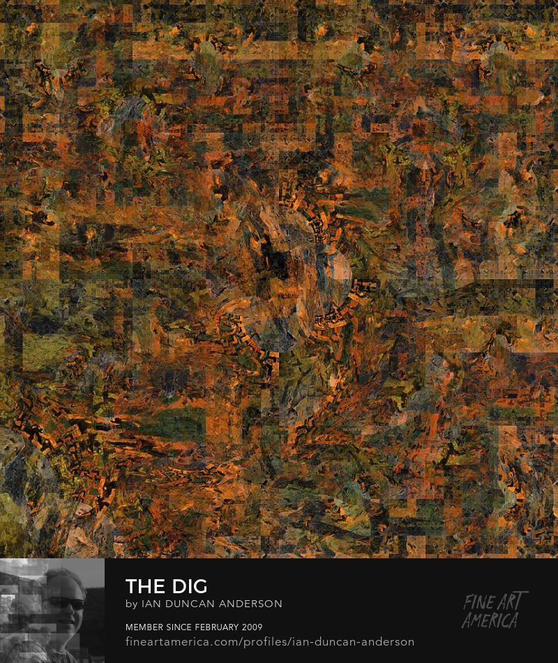 buy print of 'The dig' at Fine Art America
