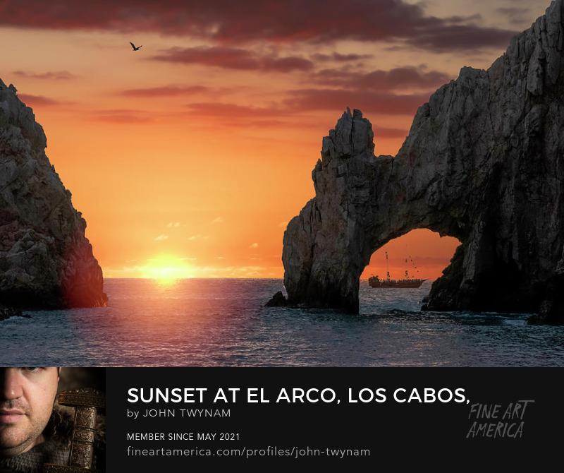 El Arco at Sunset