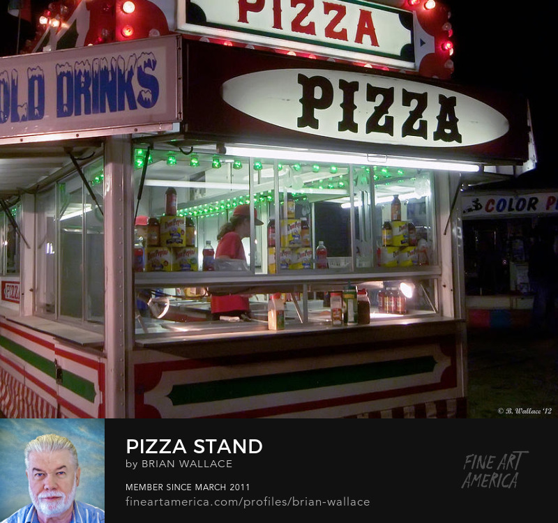 Pizza Stand by Brian Wallace
