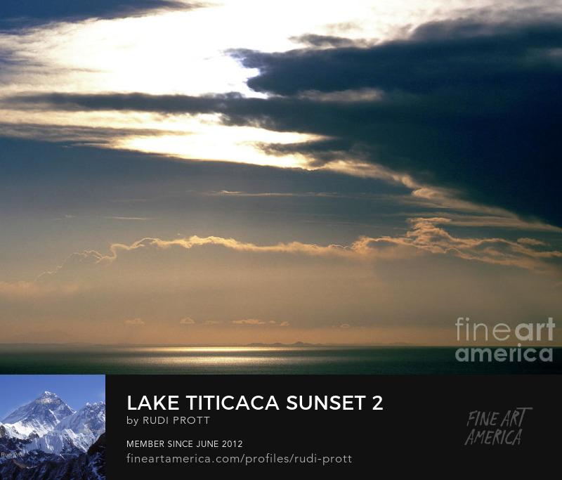 Lake Titicaca in Bolivia and Peru by Rudi Prott