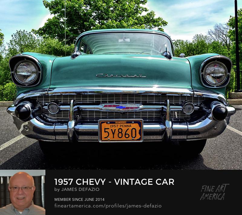 1957 Chevy Vintage Car