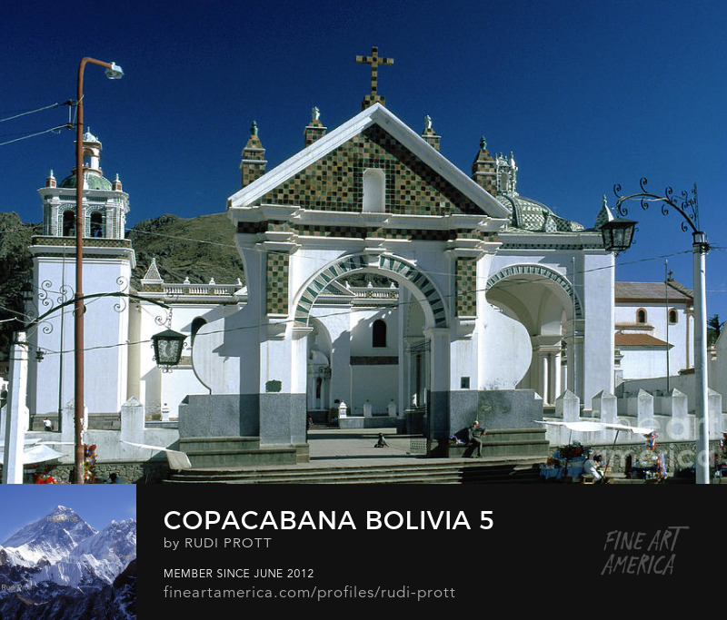 Copacabana Bolivia by Rudi Prott