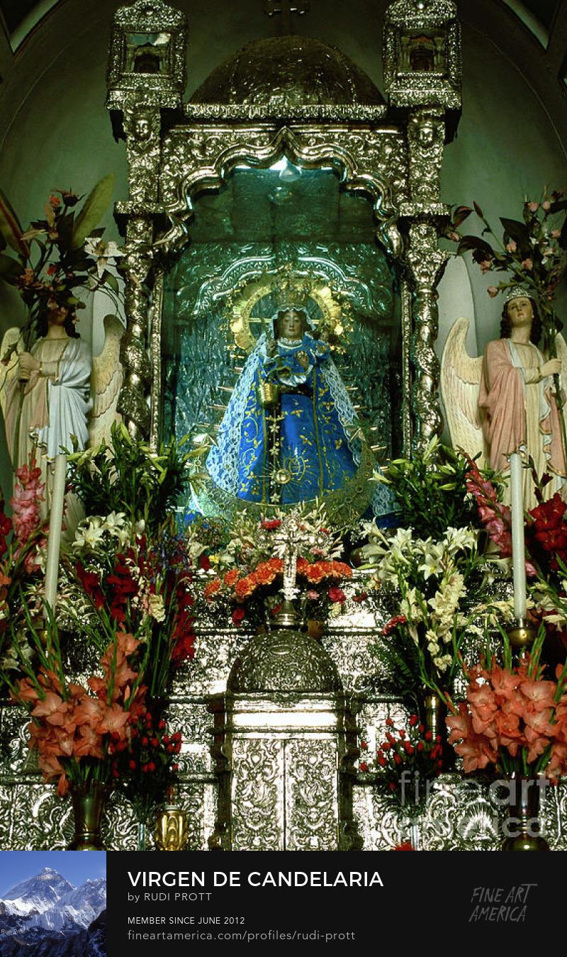 Virgen de Candelaria of Copacabana by Rudi Prott