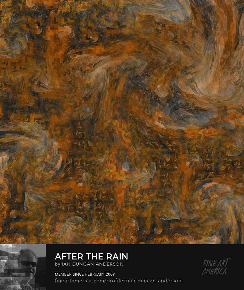buy print of 'After the rain' at Fine Art America