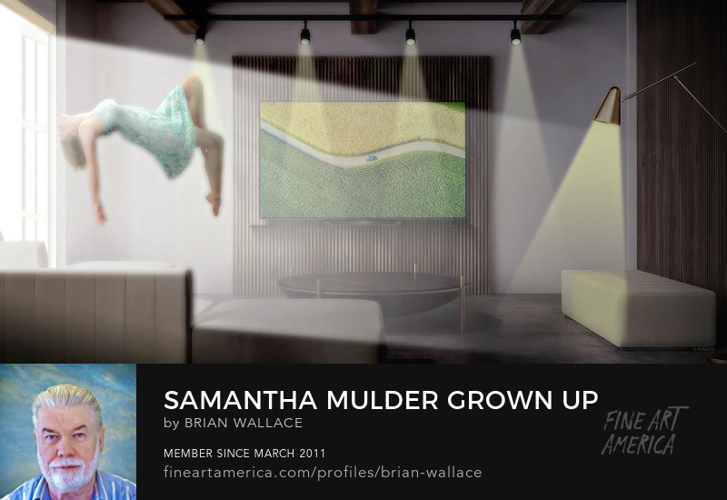 Samantha Mulder Gown Up by Brian Wallace