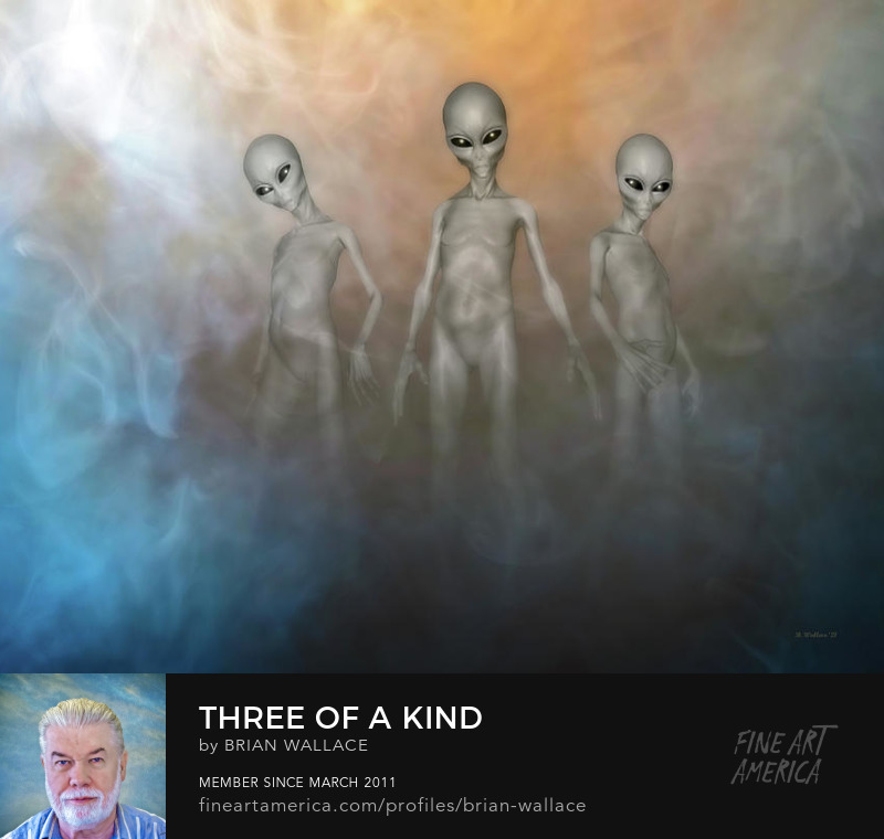 Three Of A Kind by Brian Wallace