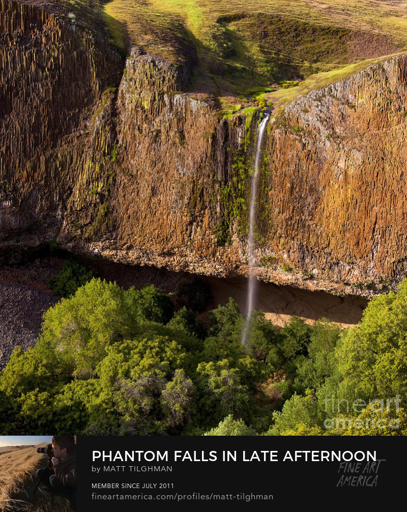 Phantom Falls from Above Photography Prints