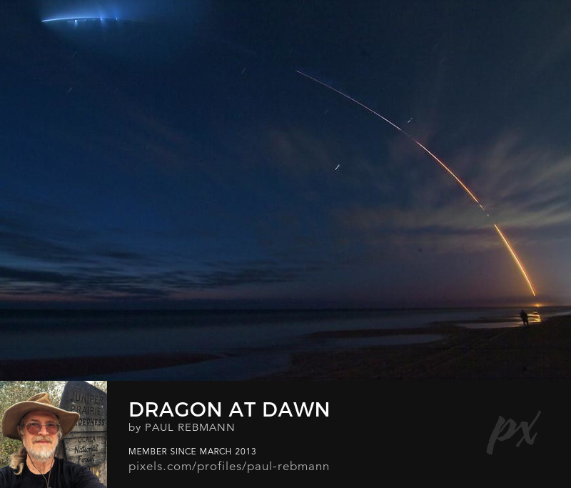 View online purchase options for Dragon at Dawn by Paul Rebmann