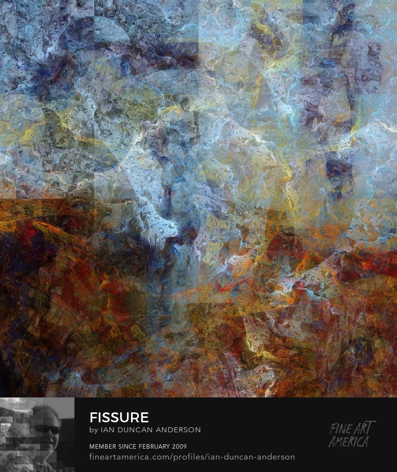 buy print of 'Fissure' at Fine Art America