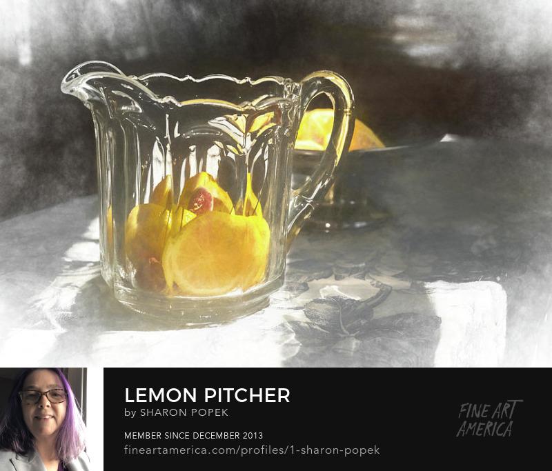 lemon pitcher art photography prints