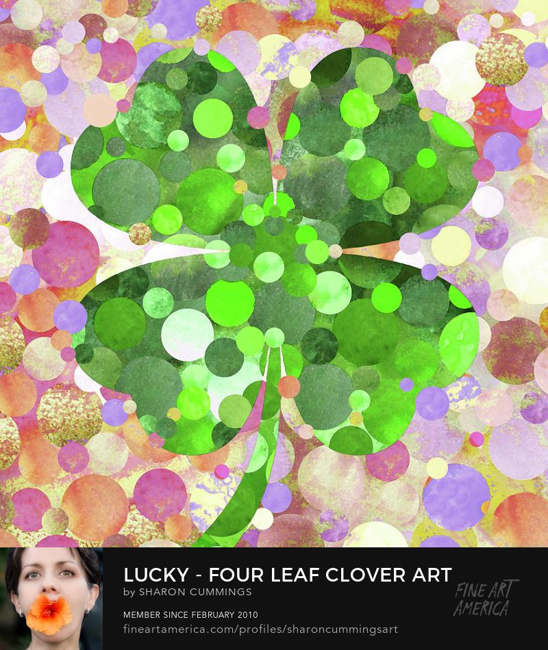 Lucky Clover Art