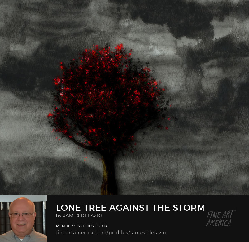 Lone Tree Against The Storm