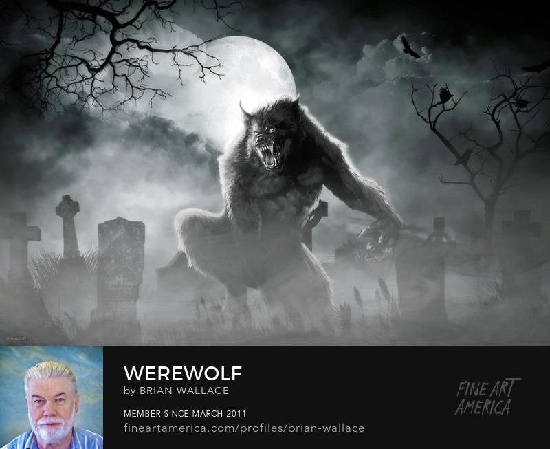 Werewolf by Brian Wallace