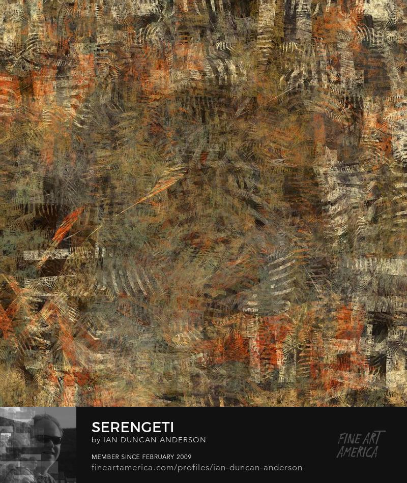 buy print of 'Serengeti' at Fine Art America
