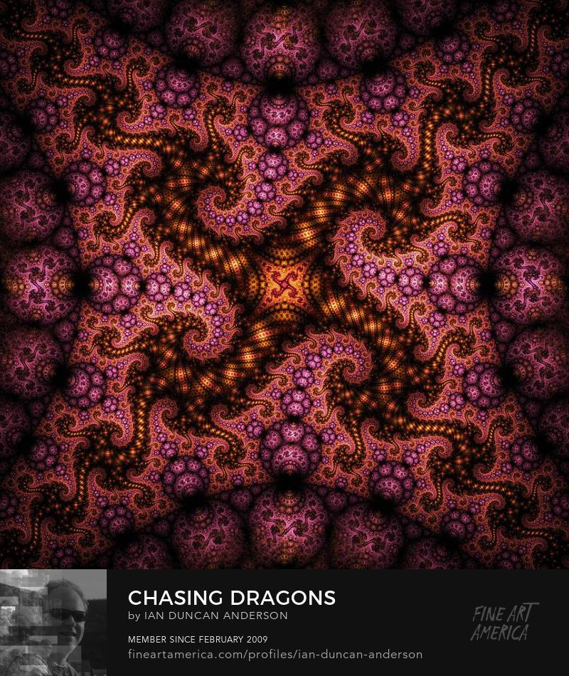 buy print of 'Chasing dragons' at Fine Art America