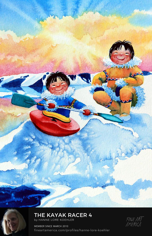 Kayak Art Prints