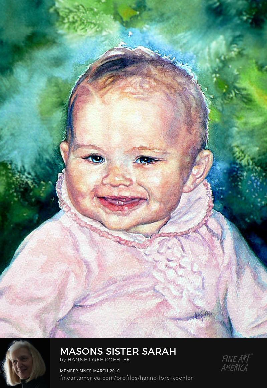 Commission a Baby Portrait Online