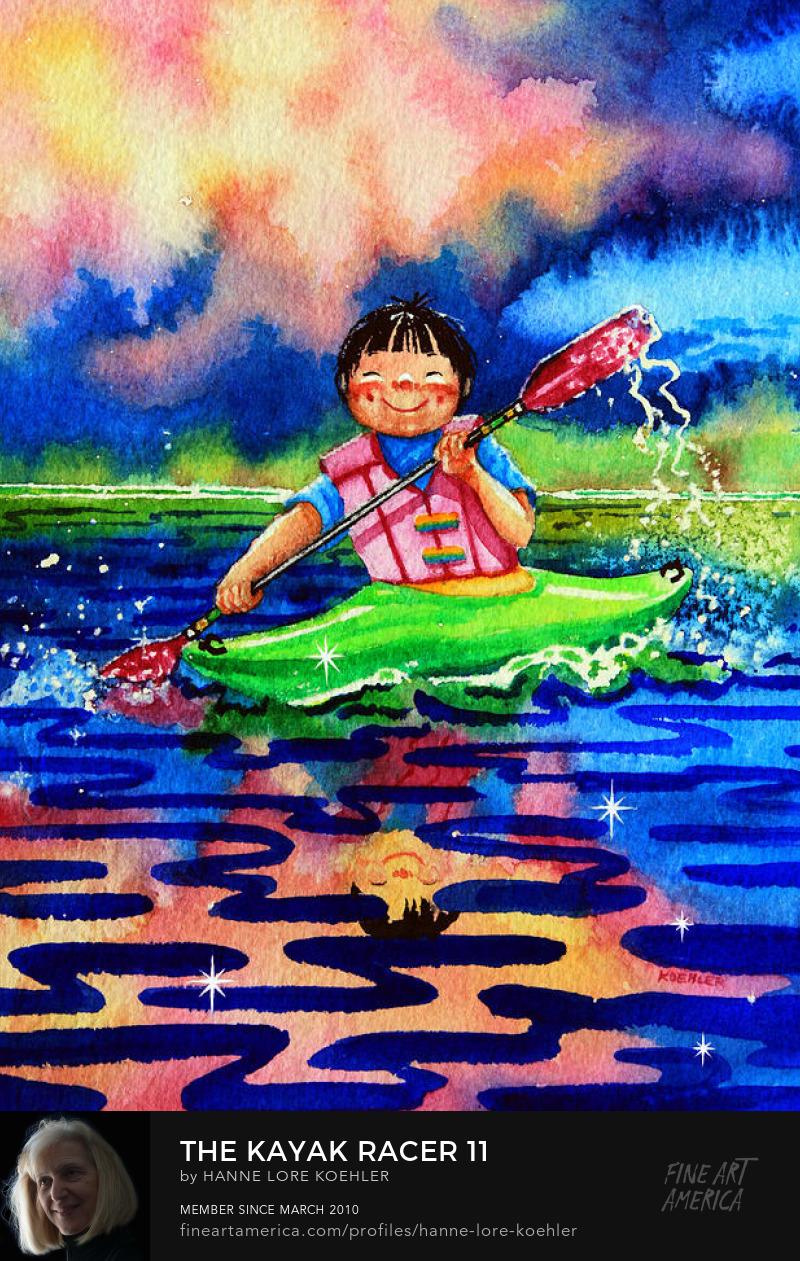 Sports Art for children