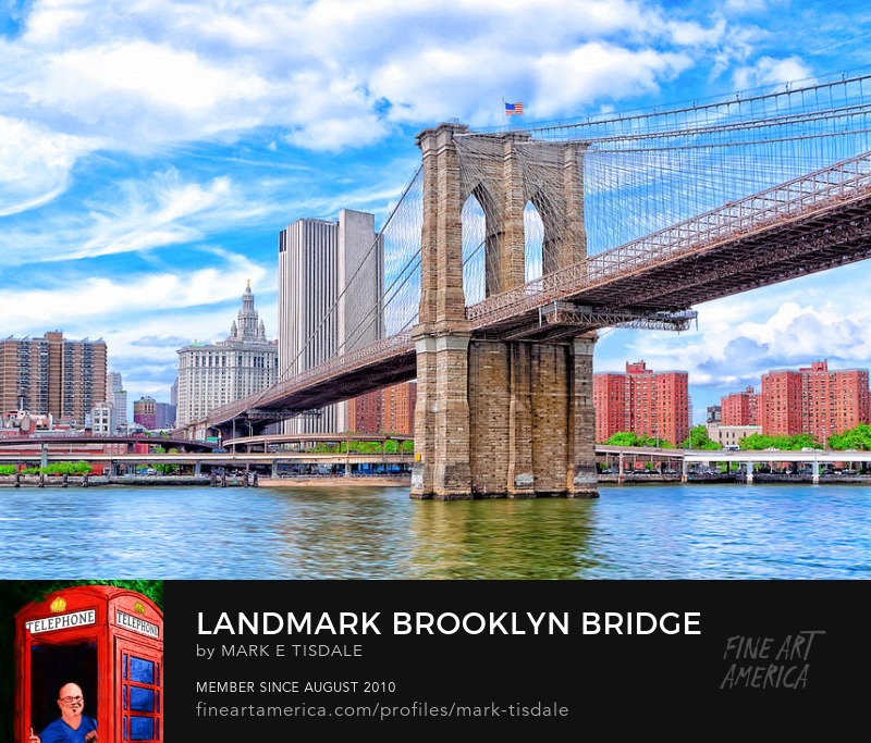 Landmark Brooklyn Bridge Photography Prints