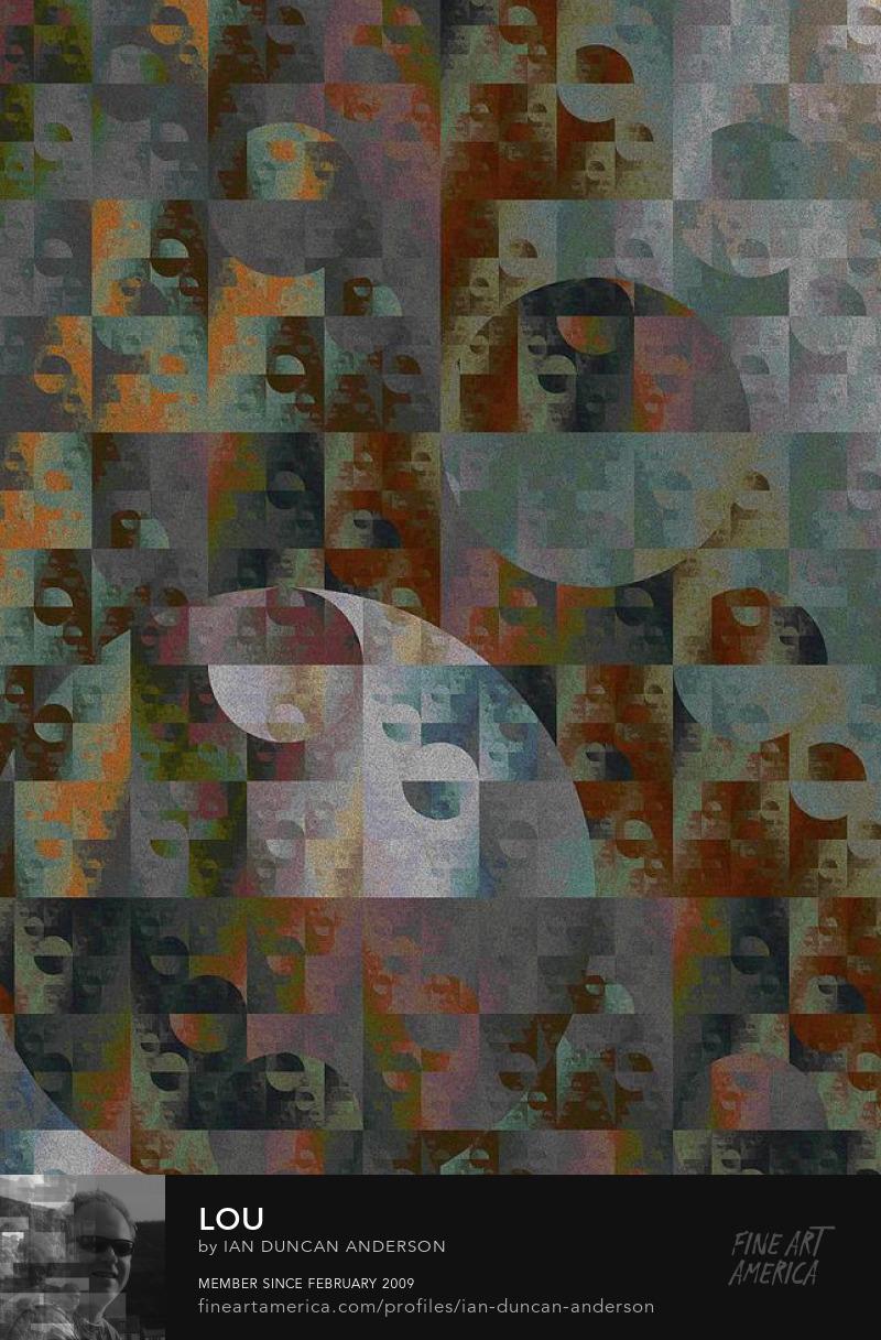 buy print of 'Lou' at Fine Art America
