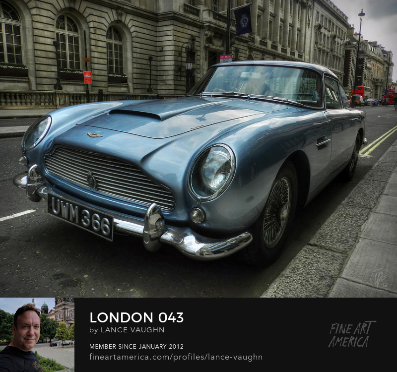 London UK Aston Martin DB5 photograph by Lance Vaughn