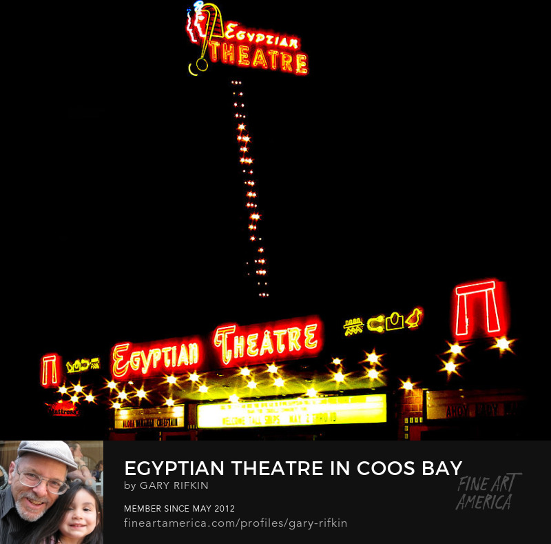 Egyptian Theatre, Coos Bay, Oregon