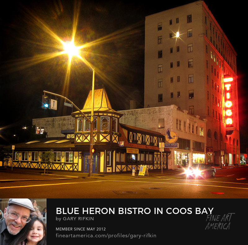 Blue Heron Bistro, Coos Bay, Oregon