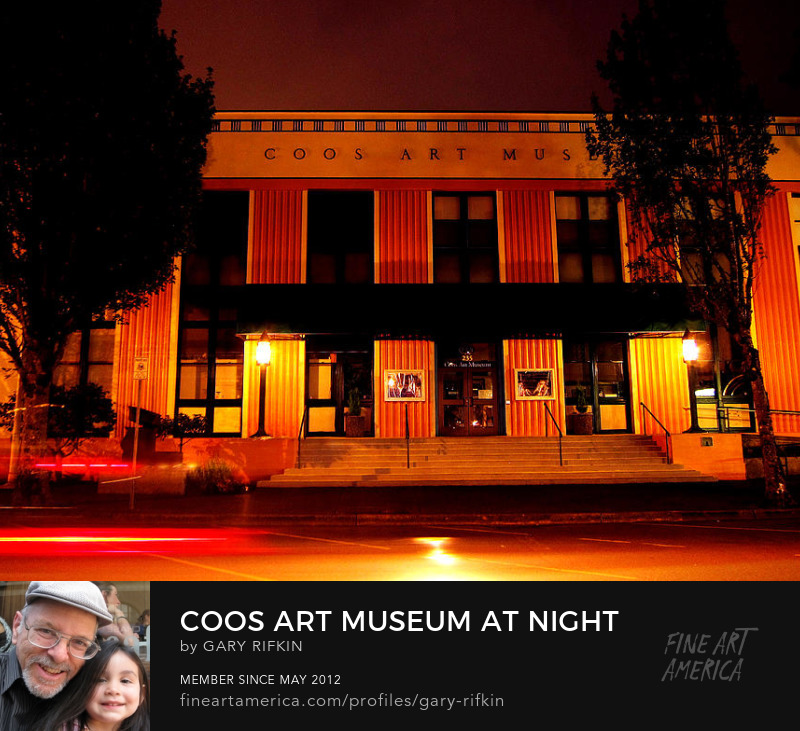 Coos Art Museum, Coos Bay, Oregon