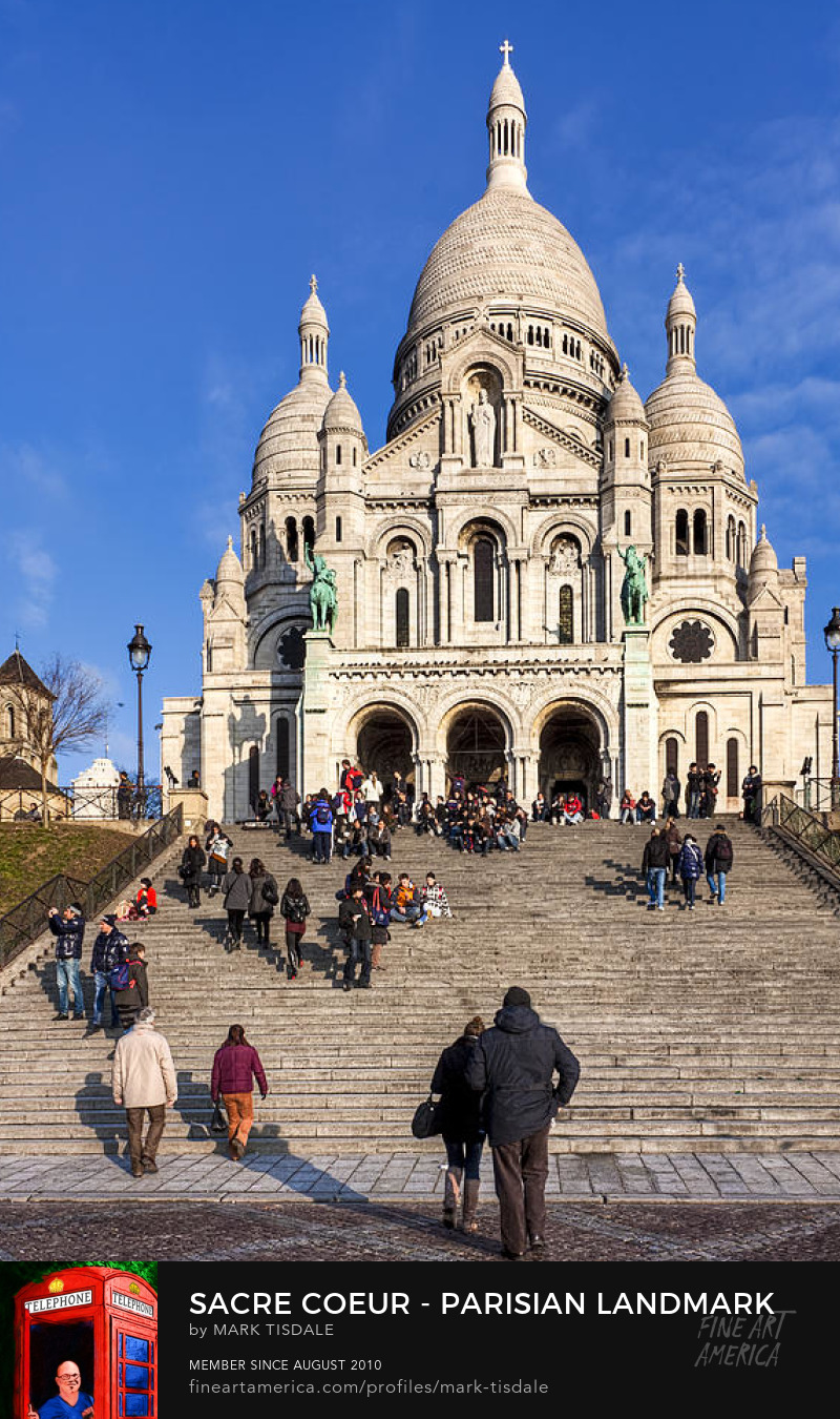 Paris Sacre Coeur Art Prints
