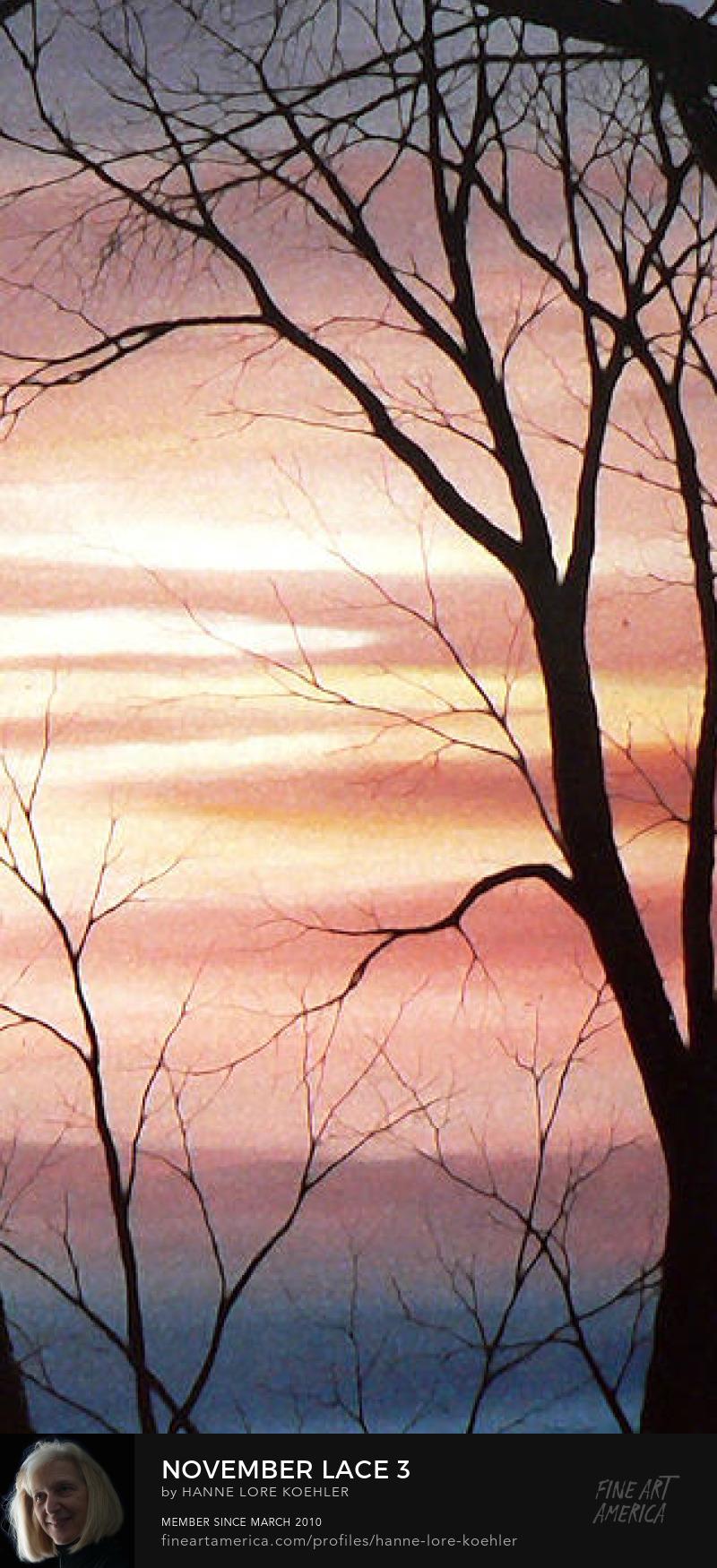 Autumn Sunset Prints