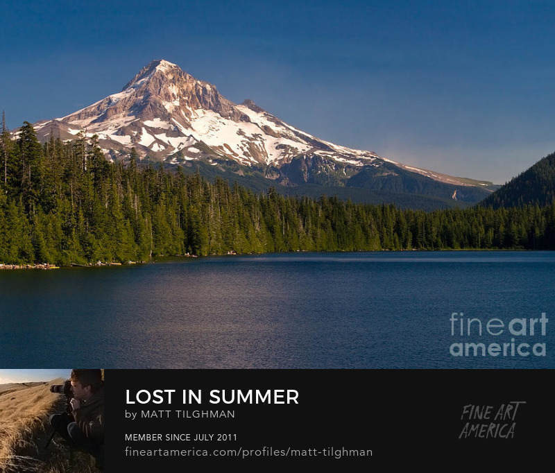 Lost Lake Oregon Art Online