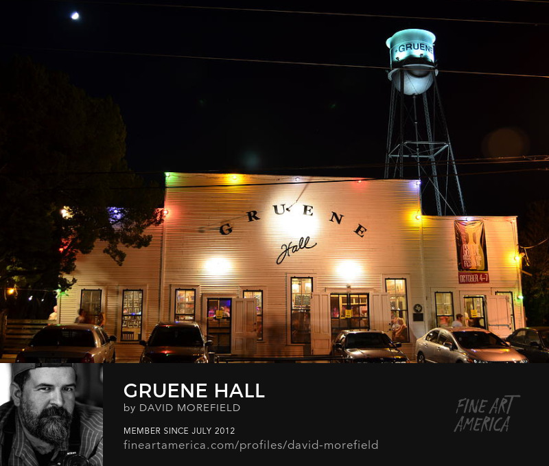 Gruene Hall by David Morefield