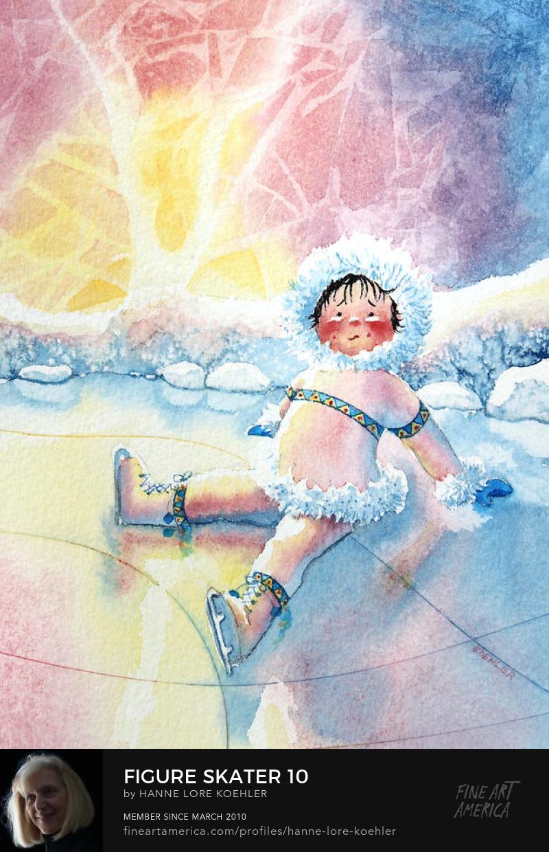 skating art Prints for children