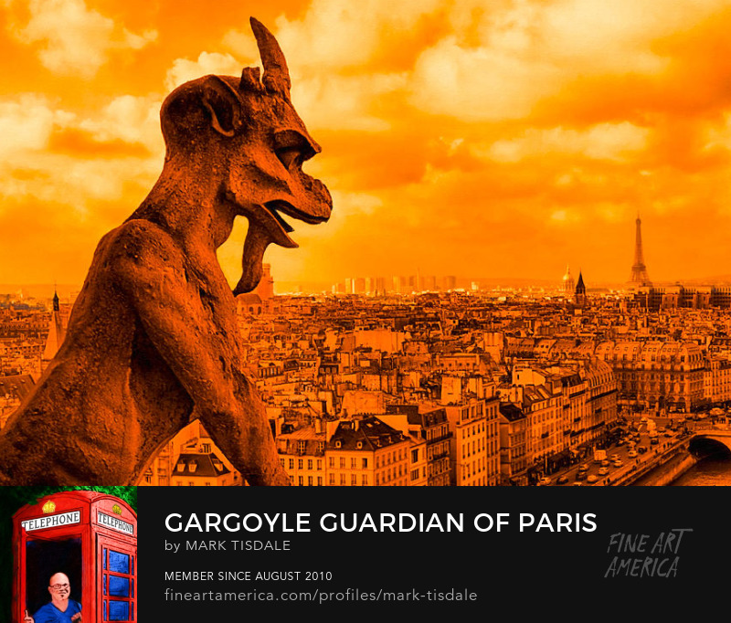 Paris Gargoyle Fine Art Prints