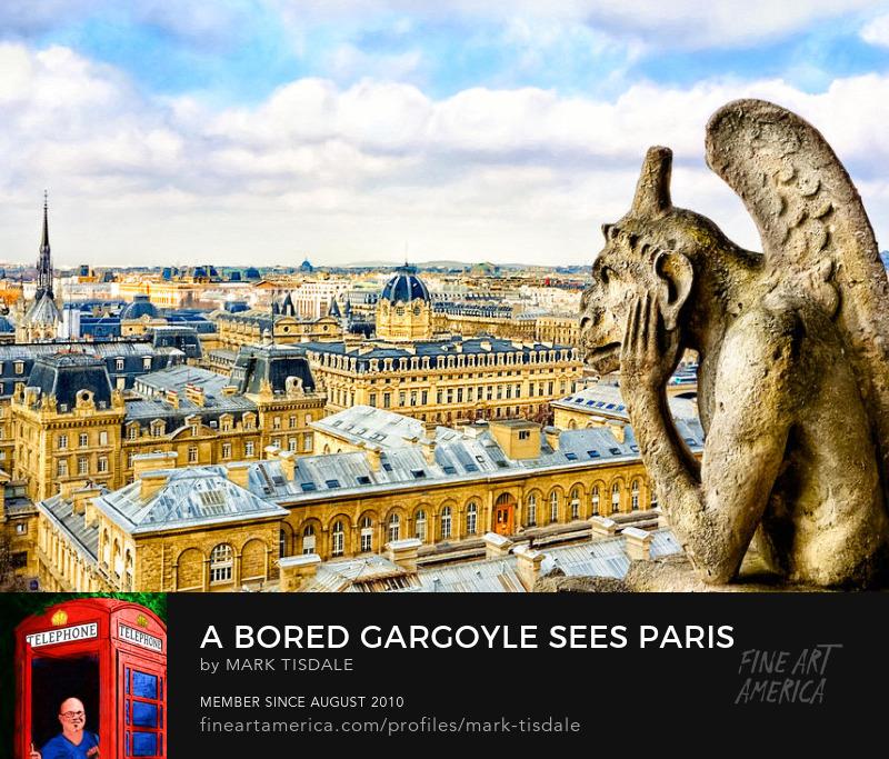 Parisian Gargoyle Art Print