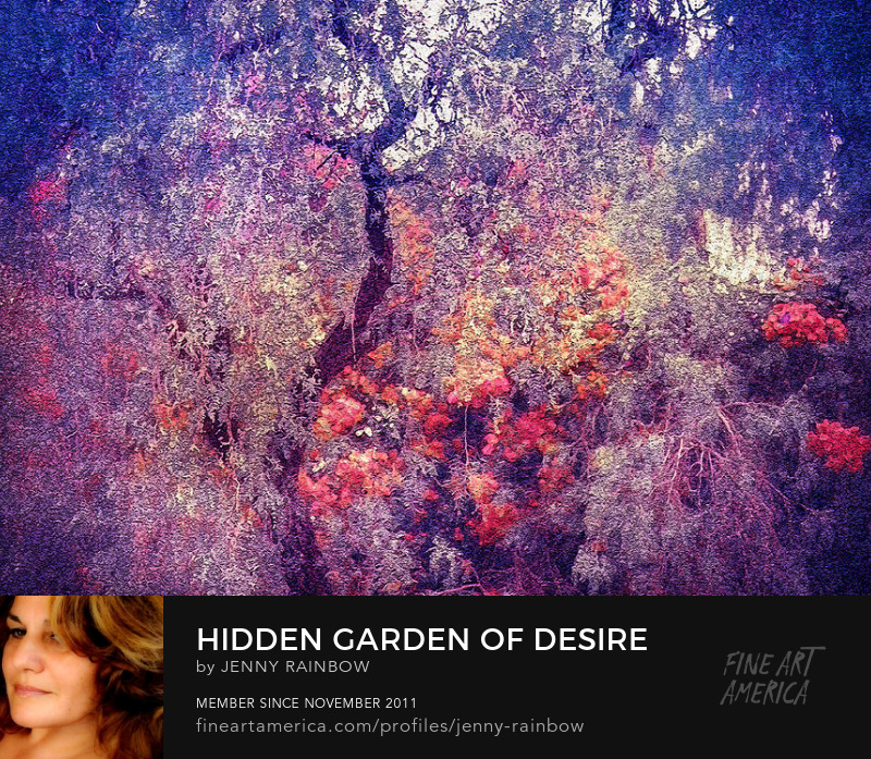 Hidden Garden Of Desire by Jenny Rainbow