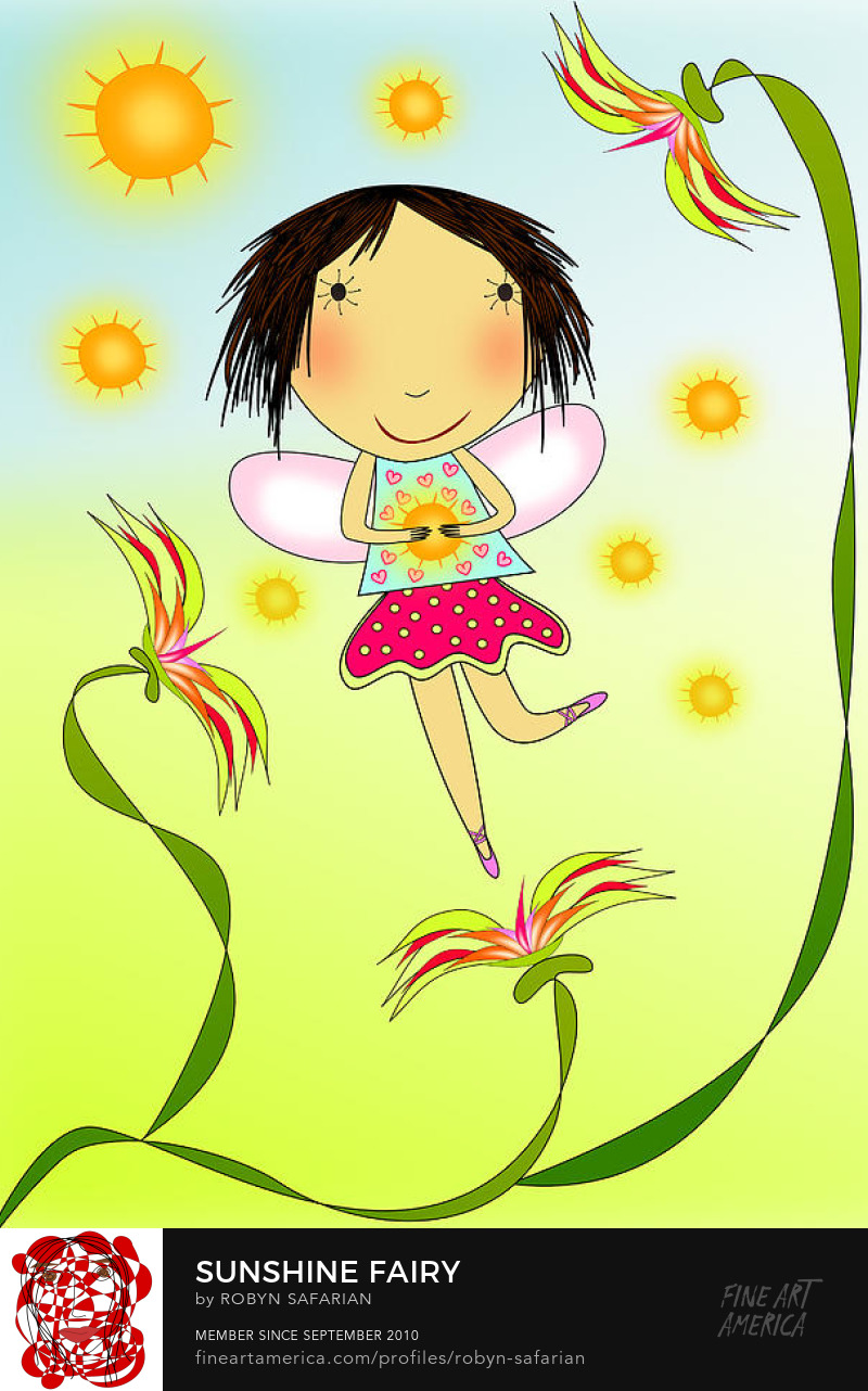 Sunshine Fairy by Robyn Safarian