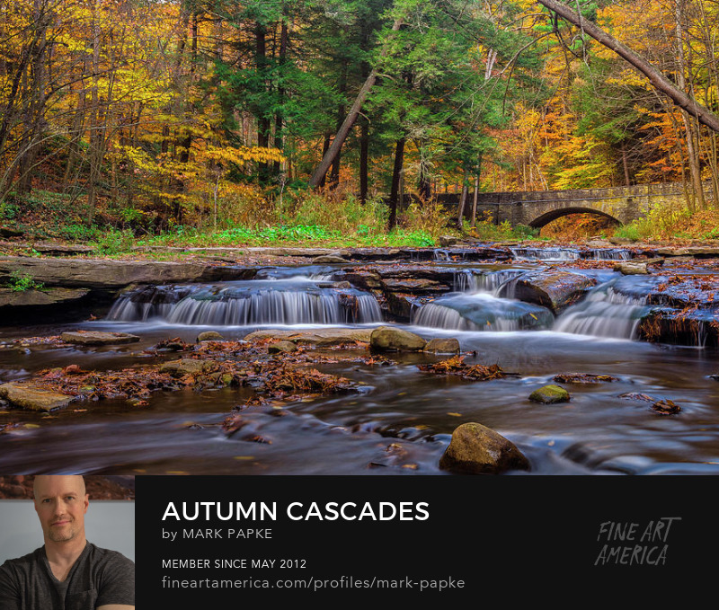 Letworth state park fall landscape photography by Mark papke