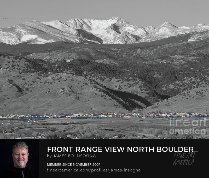 North Boulder Colorado Front Range View Photography Prints
