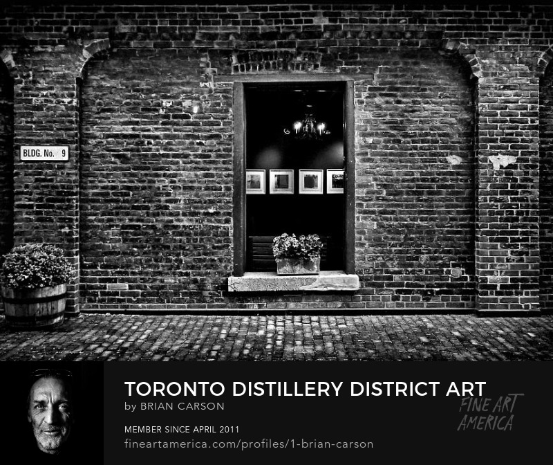 Toronto Distillery District Art Gallery Window by The Learning Curve Photography on Pixels