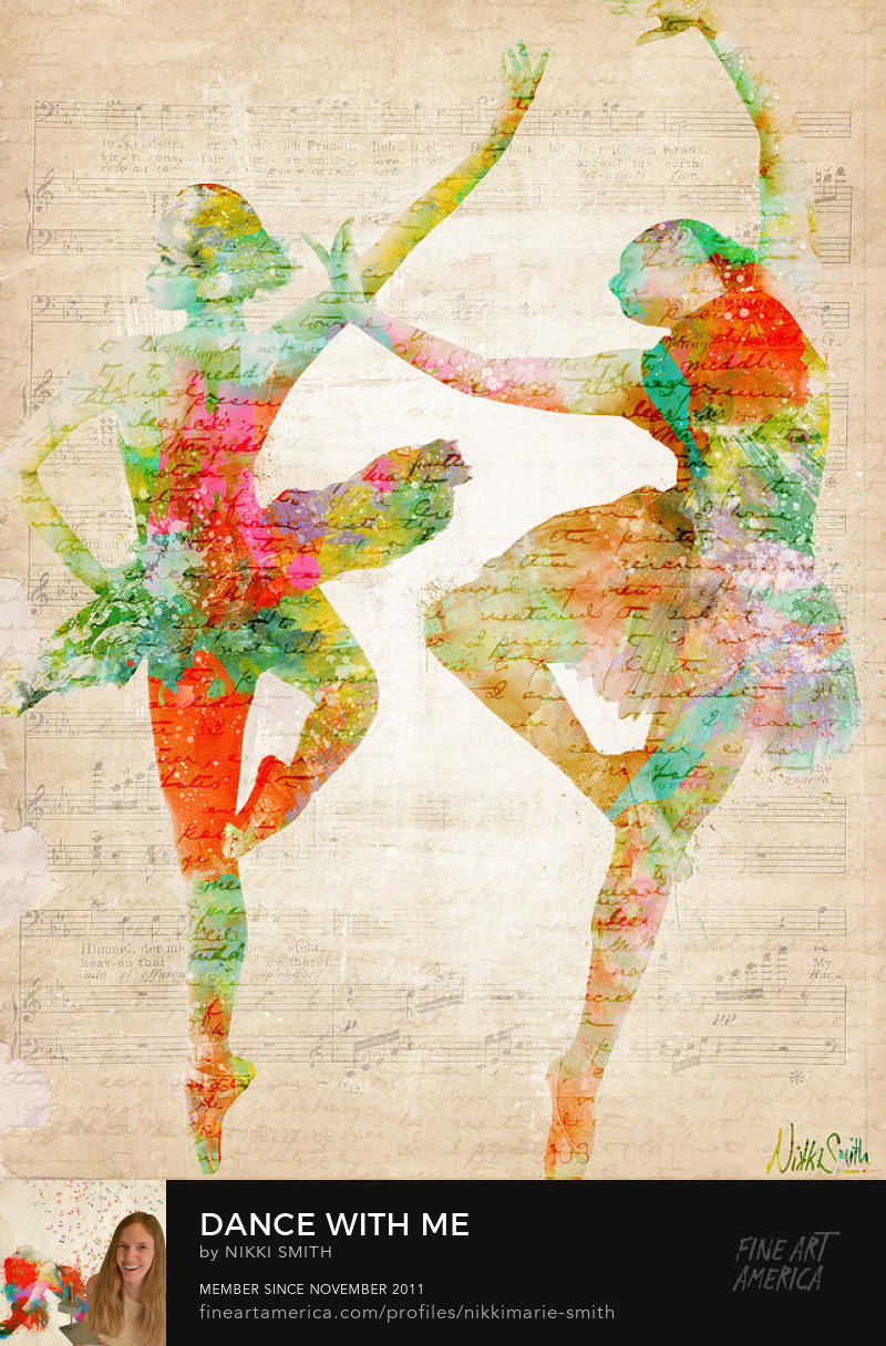 Dance with Me Fine Art