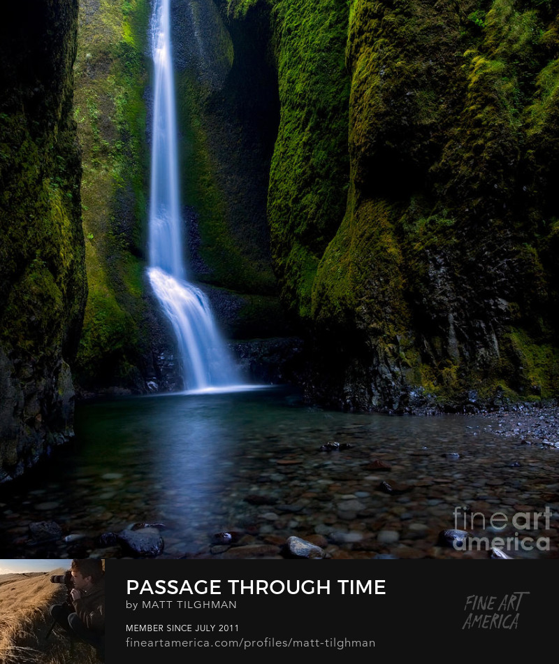 Oneonta Gorge Oregon Art Prints