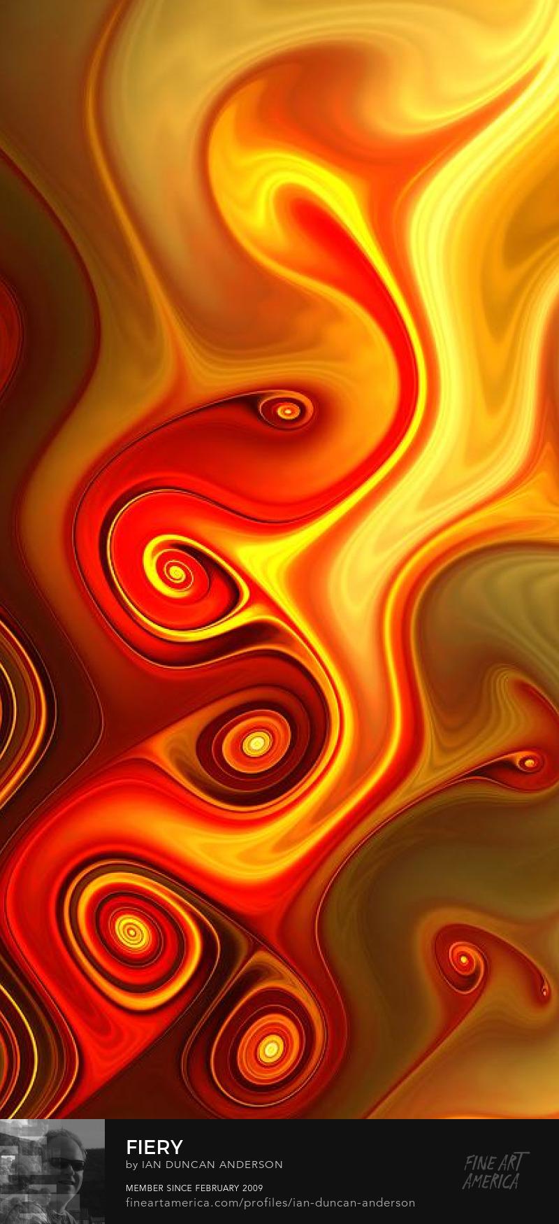 buy print of 'Fiery' at Fine Art America
