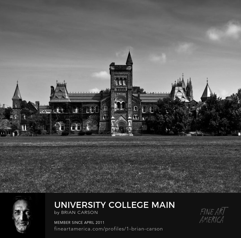 University College Main Building Toronto Canada by The Learning Curve Photography on Pixels