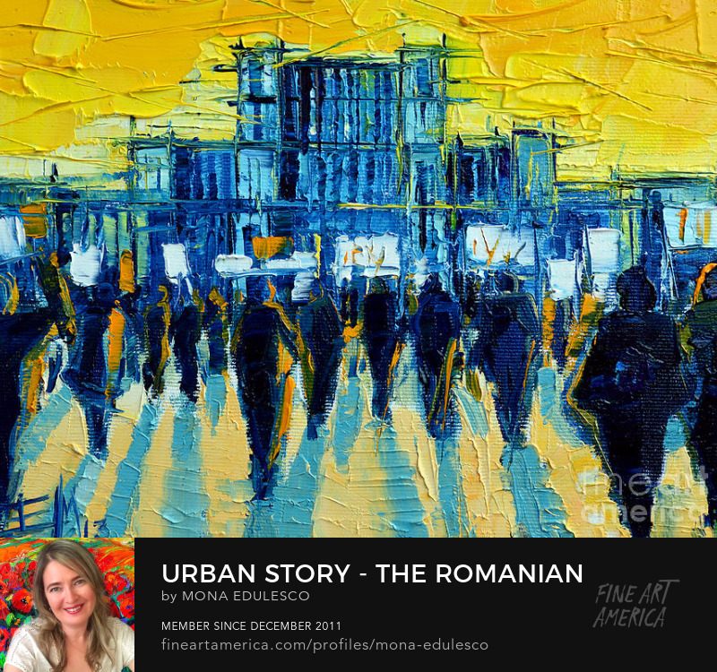 Romanian Revolution oil painting by Emona